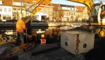 Aanpak grondwateroverlast gestart bij Prinsessekade
