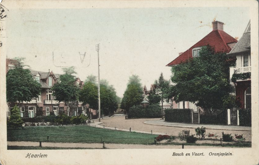 Oranjeplein 1923