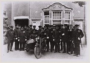 Politiekorps Boekenrodestraat 1920