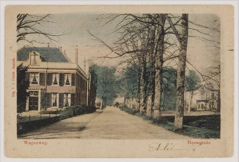 Wagenweg 1910
