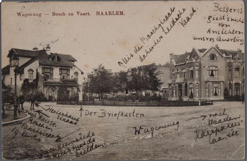 Wagenweg 1915