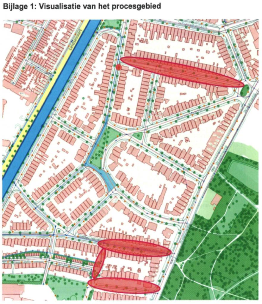 Plangebied drainage