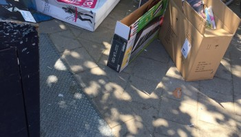 Afvalcontainers Hazepaterslaan
