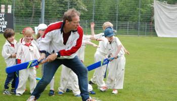 Leer cricket van Erik van Muiswinkel