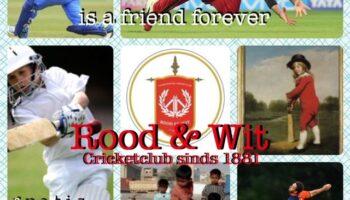 Train gratis mee bij Cricketclub Rood en Wit